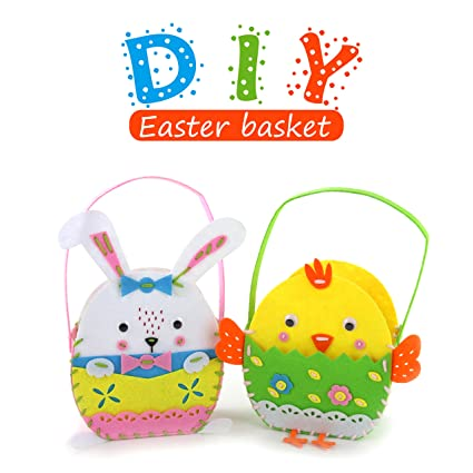 Easter sewing kit for kid wewill 8 bunnychick diy crafts gifts easter sewing kit for kid wewill 8quot bunnychick diy crafts gifts 2pack felt negle Gallery