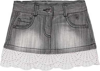 boboli Denim Stretch Skirt for Girl Falda, Gris (Grau), 3 años ...