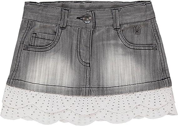 boboli Denim Stretch Skirt for Girl Falda, Gris (Grau), 3 años ...
