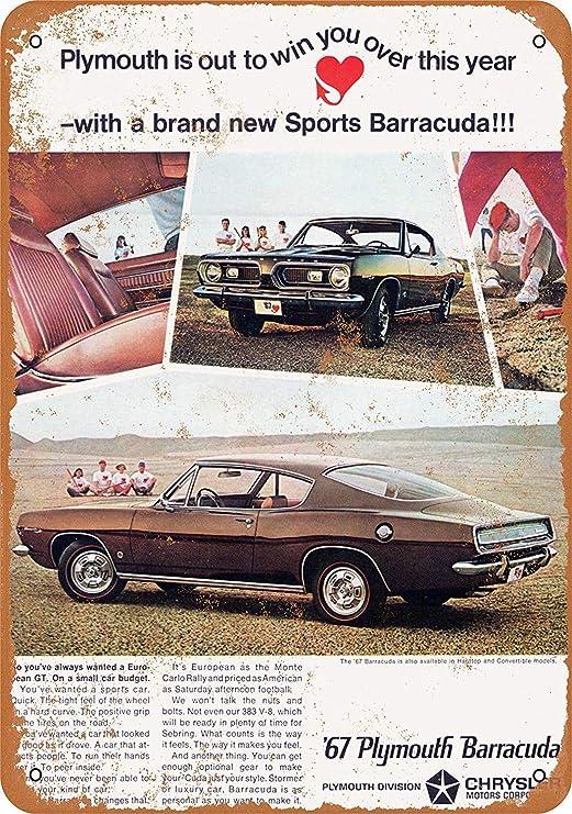KELLEN WHITEHEAD 1967 Plymouth Barracuda Cartel Divertido De La ...