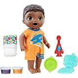 Baby Alive Super Snacks Snackin' Luke (Black Hair)