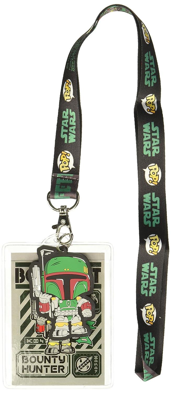 Funko 21180 cordón: Star Wars - Boba Fett con Tarjeta de ...