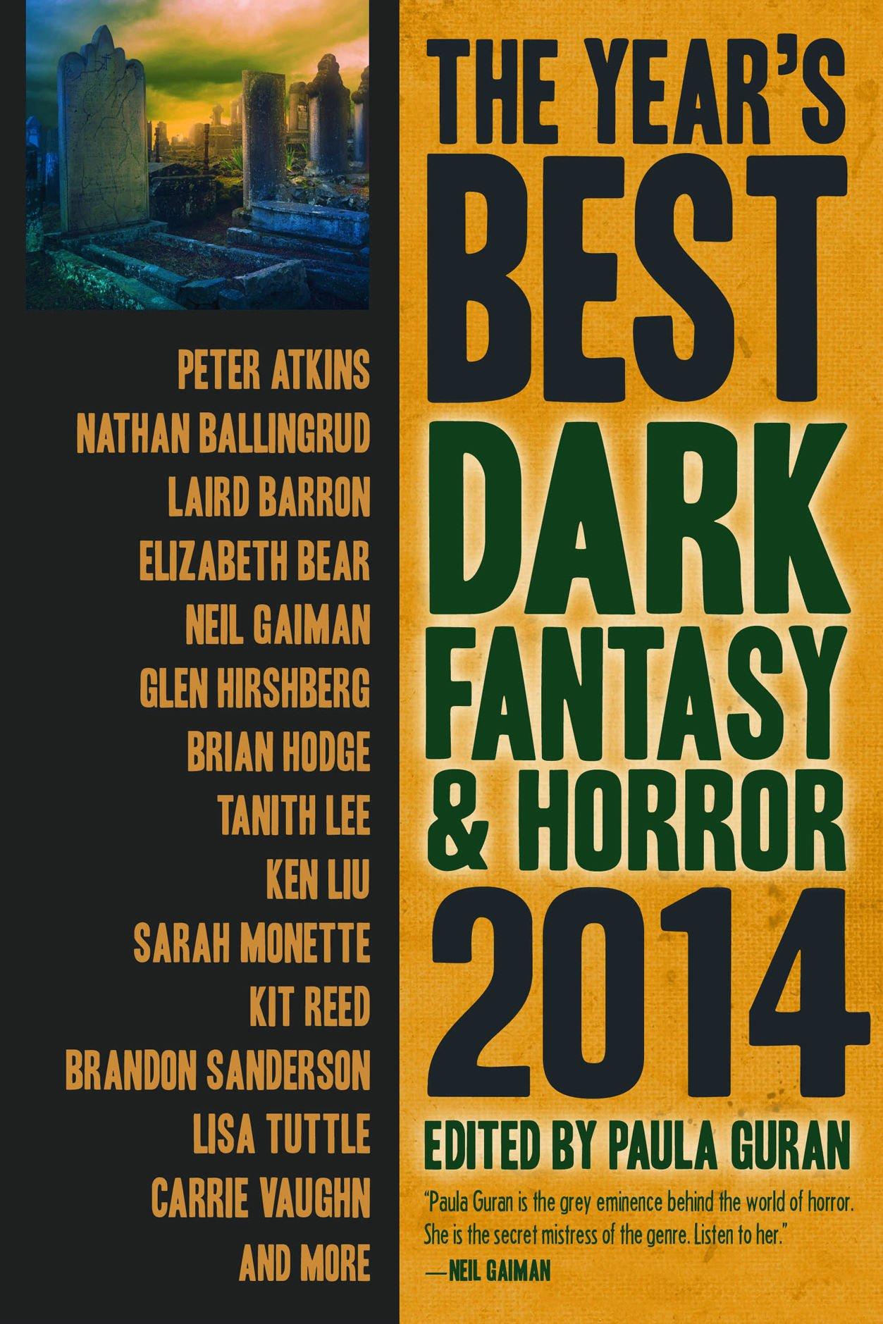 The Year's Best Dark Fantasy & Horror 2014 Edition pdf epub