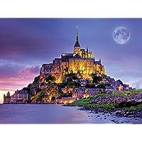Buffalo Games Majestic Castles Mont St. Michel 750-Piece Jigsaw Puzzle