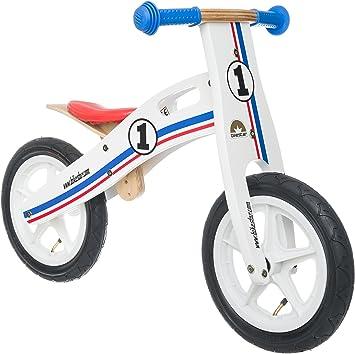Bikestar Bicicleta de Equilibrio de Madera para niños de 3 años de ...