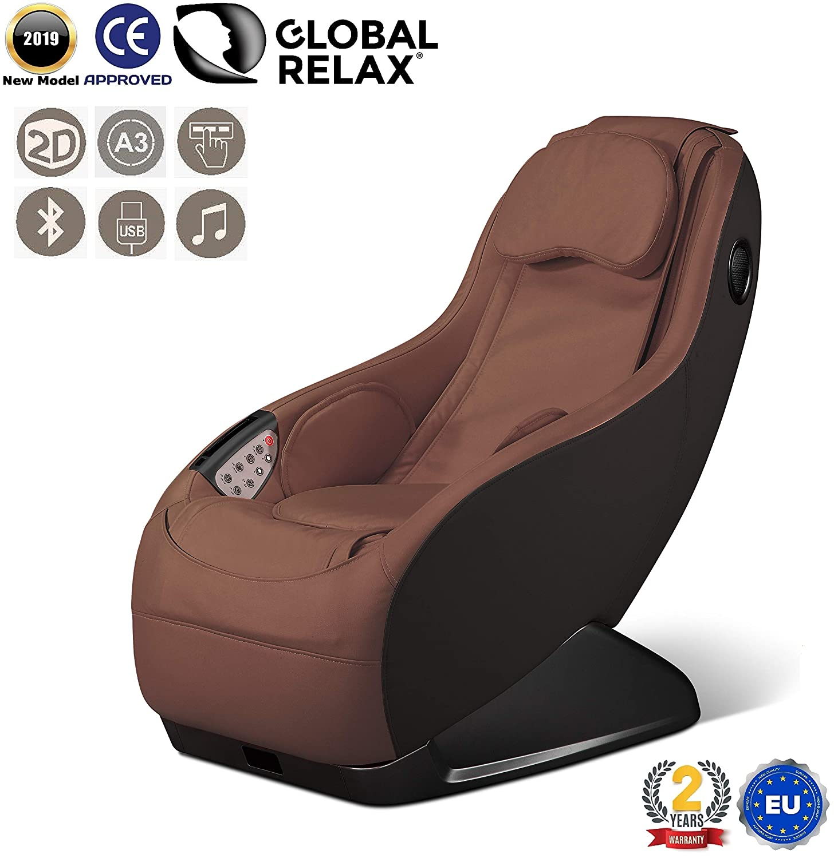 Poltrona Massaggiante Roma.Guru Poltrona Massaggiante Shiatsu 2d Marrone Modello