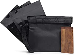 Sweepstakes: Smell Proof Bag with Raw Wood Stash Box and Baggies