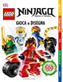 Gioca e disegna. Lego Ninjago. Masters of Spinjitsu. Con adesivi. Ediz. a colori