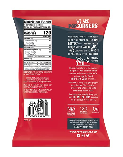 c82bd62073e7 Amazon.com  POPCORNERS Sweet   Salty Kettle Corn Popped Corn Snacks ...