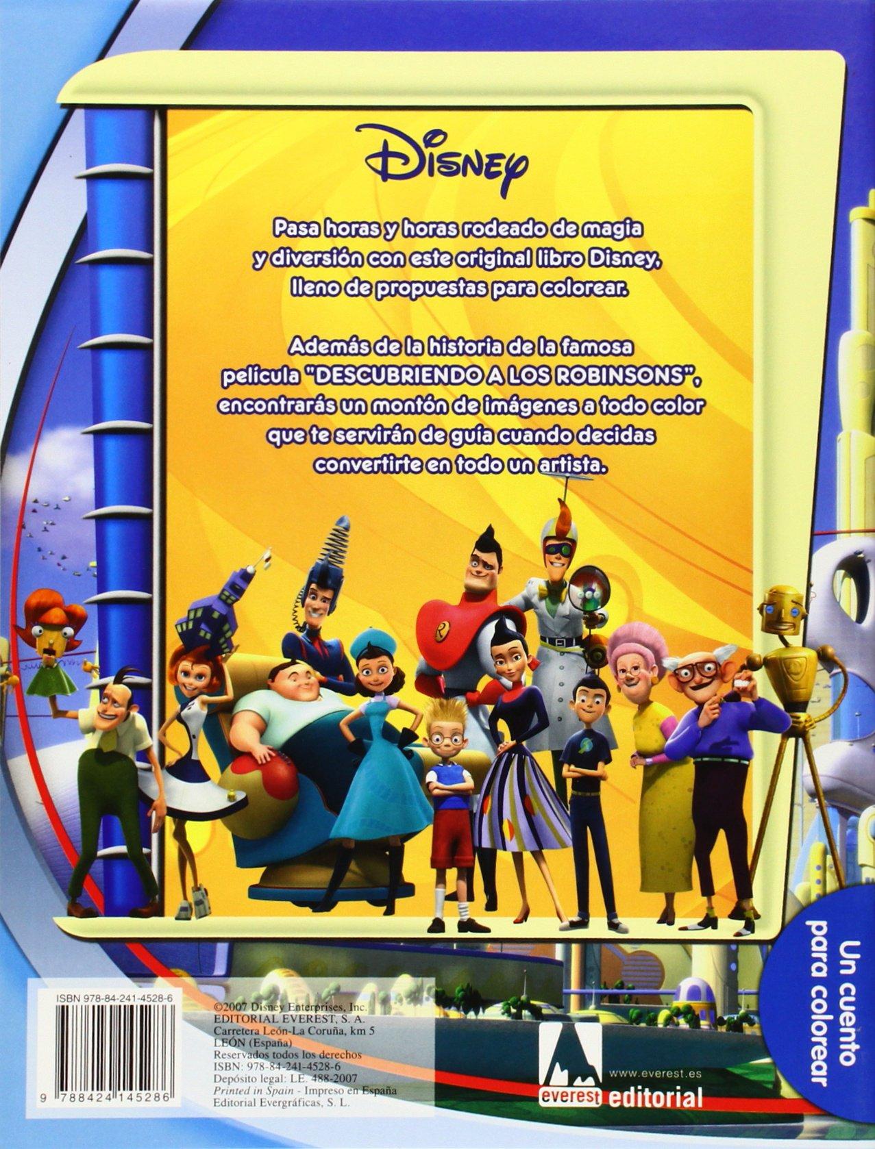 Descubriendo a los Robinson. Un cuento para colorear: Amazon.es: Walt Disney Company: Libros
