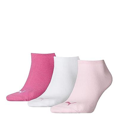 6 Paar PUMA Chaussettes pour baskets, Sportlifestyle im Pack avantage + très Expédition Rapide grâce à Amazon - 6Paar = pink lady, 35-38