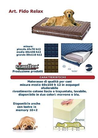 Gianflex Colchón Cama Caseta Puff cojín para Perro 60 x 100: Amazon.es: Hogar