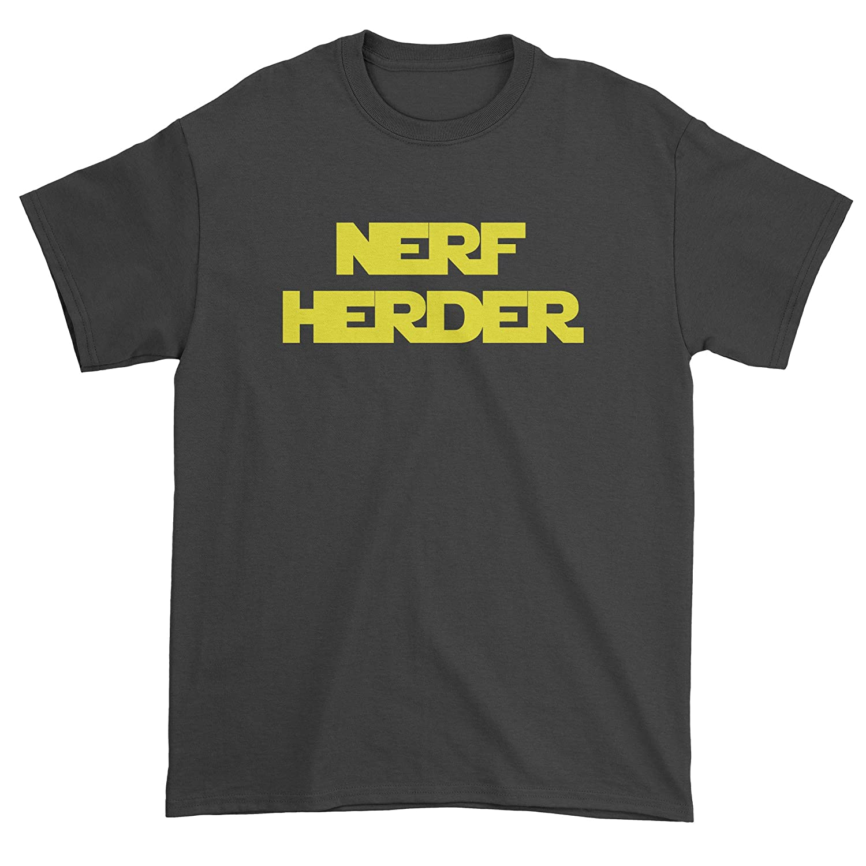 FerociTees Solo Nerf Herder Quote Mens T-Shirt 3225-M