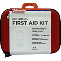 Coleman Camping All Purpose First Aid Essentials Kit for Emergencies - 205 Pieces