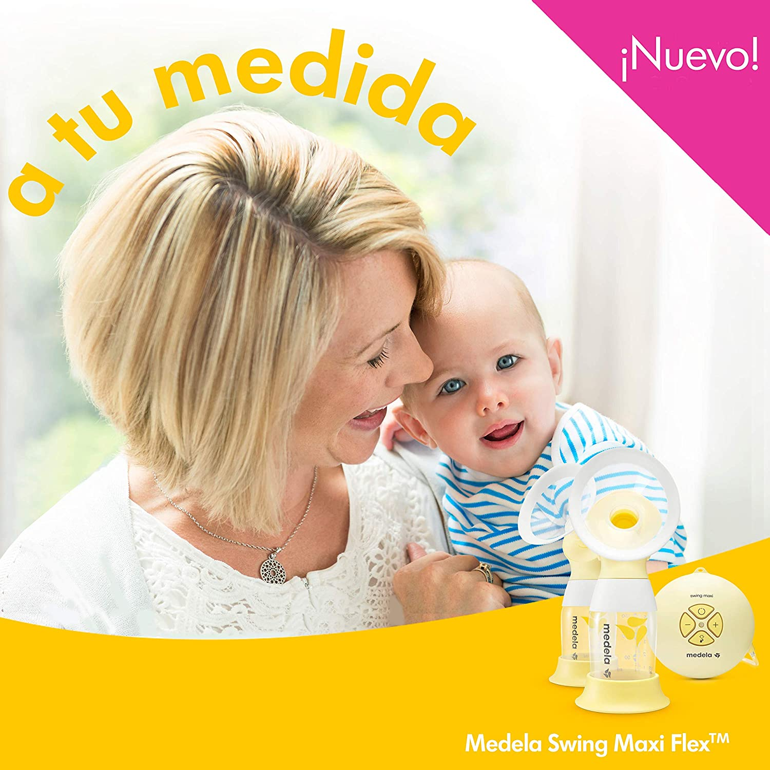 Medela Sacaleches electrico doble Swing Maxi Flex de Medela - Sacaleches eléctrico doble: Amazon.es: Bebé