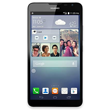 "HUAWEI Ascend Mate 2 16GB Unlocked GSM 6 1"" Display 4G LTE Android  Smartphone w/ 13MP Camera - Black"