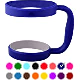 30oz Tumbler Handle (ROYAL BLUE) by STRATA CUPS - 16 COLORS - Available For 30oz YETI Tumbler, OZARK TRAIL Tumbler, Rambler Tumbler- Black, Gray, Purple, Teal, Pink, Gray, Red & More - BPA FREE