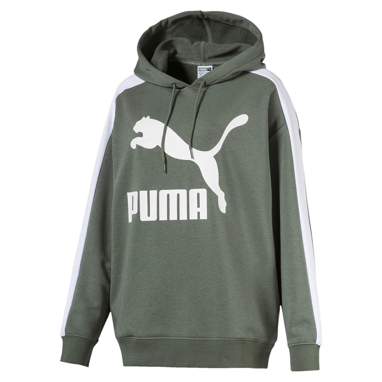 Puma Damen Classics Logo T7 Hoody Sweatshirt B07DG4HJTL