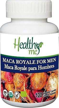 Maca Royale para Hombre. Maca Peruana 100% natural. Máxima potencia que aumenta energía y vitalidad. Rica en proteínas (fuente natural de Arginina), ...