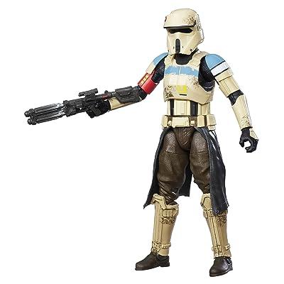 STAR WARS The Black Series Scarif Figura de Stormtrooper, líder de Las Tropas de Asalto: Juguetes y juegos