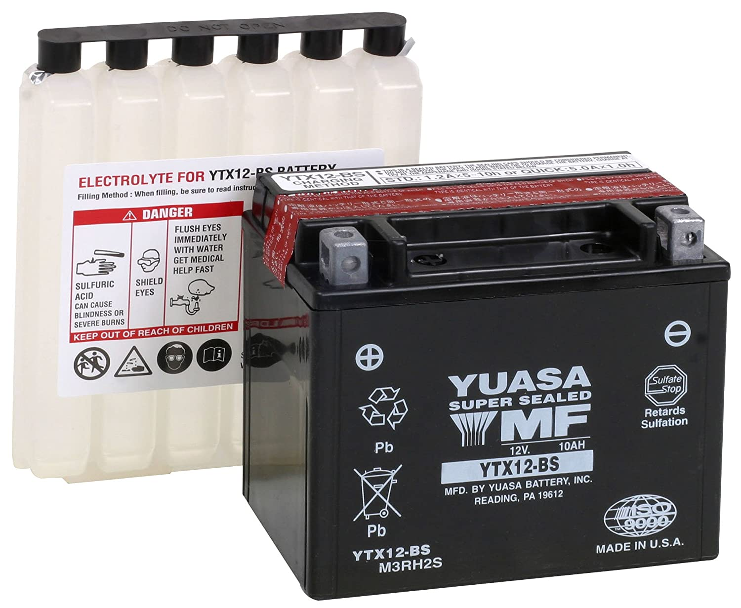 Yuasa YUAM3RH2S Lead_Acid_Battery