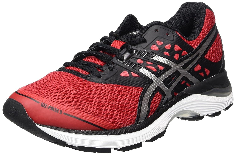 Asics Gel-Pulse 9, Zapatillas de Running para Hombre 50.5 EU|Rojo (Classic Redsilverblack 2393)