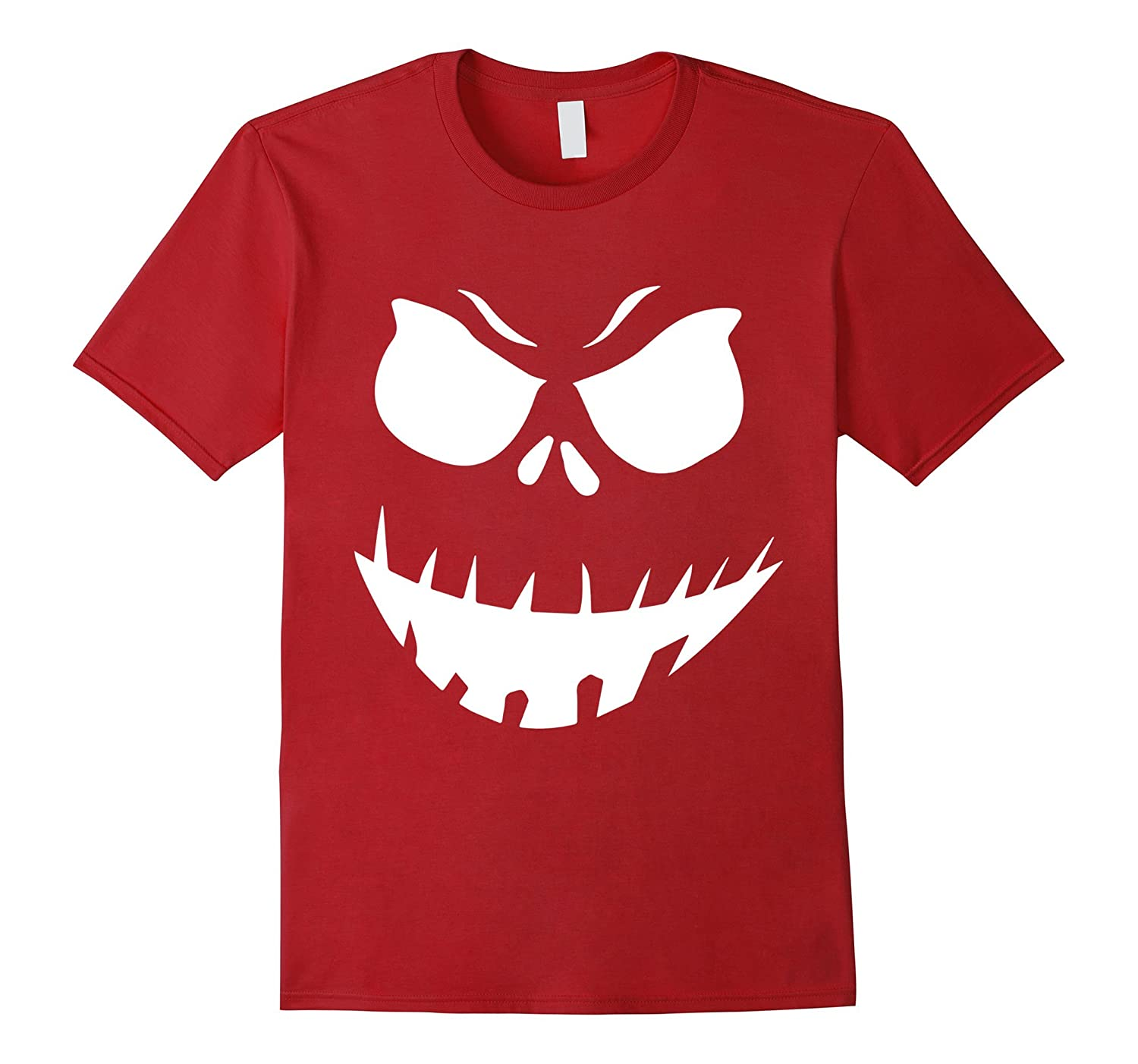 The Official Scary Face Halloween Costume Tee Shirt-RT