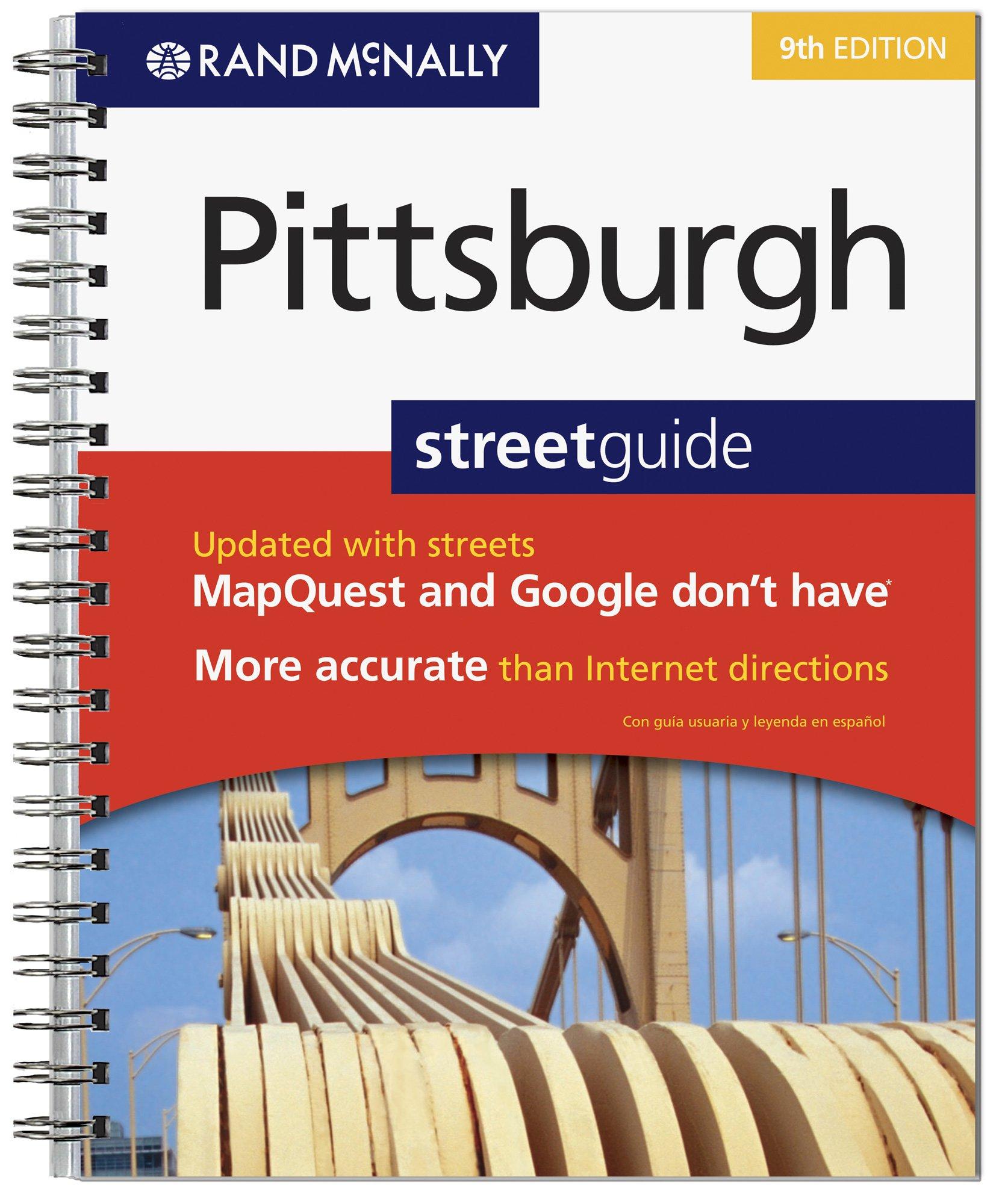 Amazon pittsburgh pennsylvania books rand mcnally pittsburgh street guide fandeluxe Choice Image