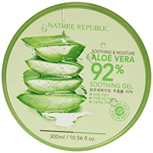 Nature Republic Soothing & Moisture Aloe Vera 92% Gel, 300ml (Pack of12)