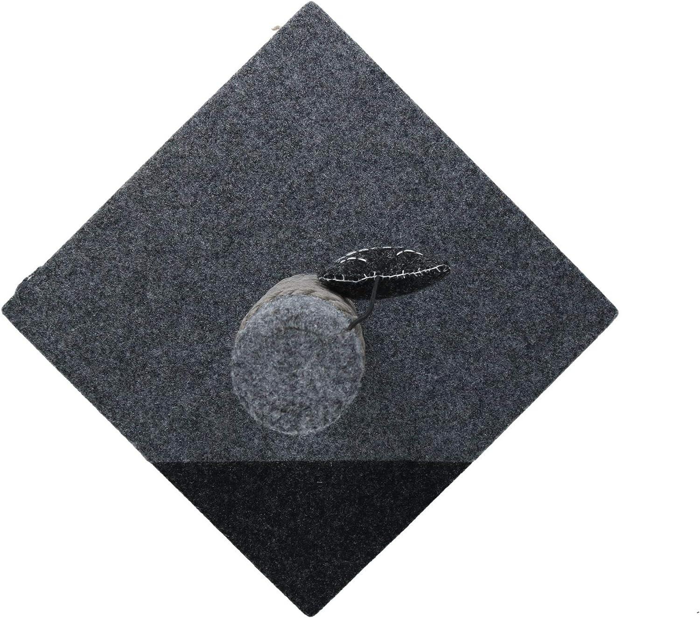 Rosewood - Poste de rascador para Gato de carbón y Estilo Moderno ...