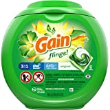 Gain flings! Laundry Detergent Liquid Pacs, Original, 42 Count - Packaging May Vary, 2.06 Pound (Pack of 1)