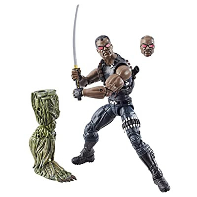 Marvel Knights Legends Series Blade, 6-inch: Toys & Games