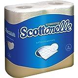 scottonelle-Papel Higiénico, suave y acolchada-4rollos
