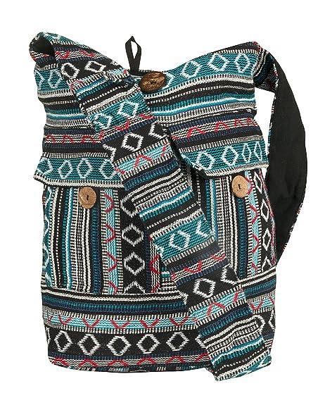 Amazon.com: Bolsa de hombro grande tejida para la escuela ...