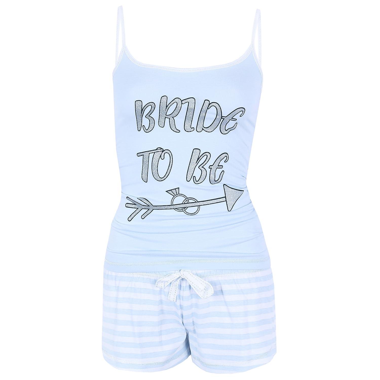 El pijama azul Bride to be PRIMARK: Amazon.es: Ropa y accesorios