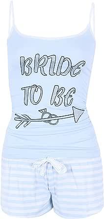 El pijama azul Bride to be PRIMARK - X-Large: Amazon.es: Ropa