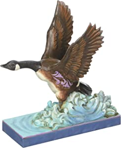 Jim Shore Nature's Wonders Soar Canada Goose Flying Figurine 4052062 Geese New