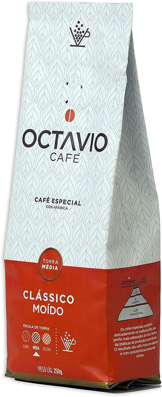 Café Torrado e Moído Clássico Tm Octavio Café Especial 250g por Octavio Café Especial