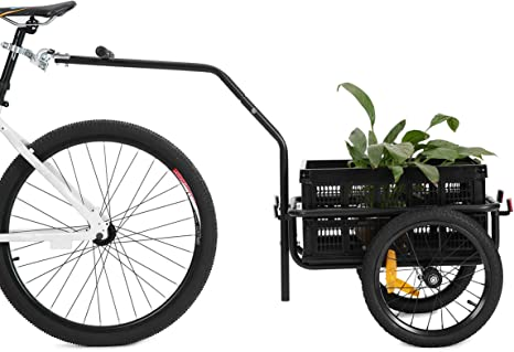 Carrito-remolque de transporte para bicicleta 2 en 1 de Didiosports ...