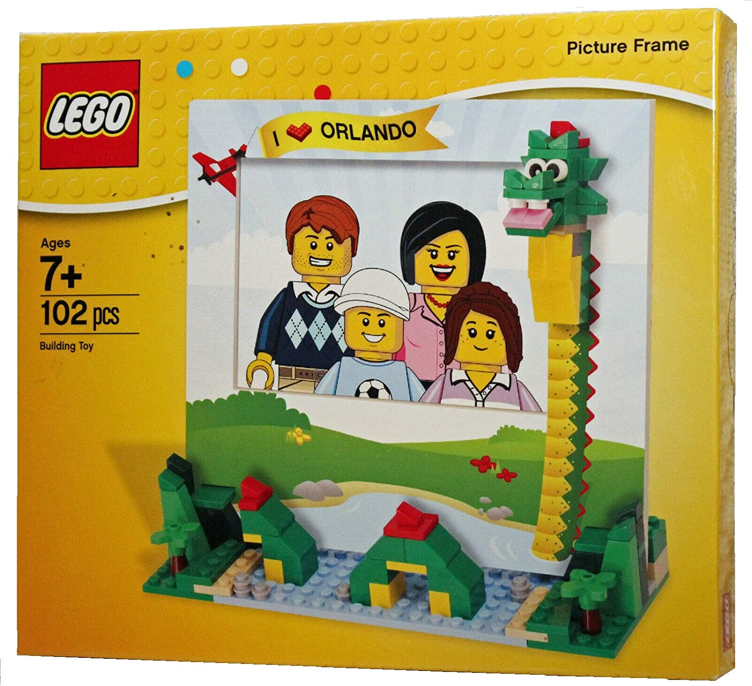 LEGO Store Dragon I Love Orlando Picture Frame Build (102 Pieces) 850751