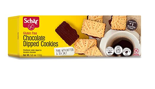 Schar Cookies, Chocolate Dippeed, 5,3 oz: Amazon.com ...