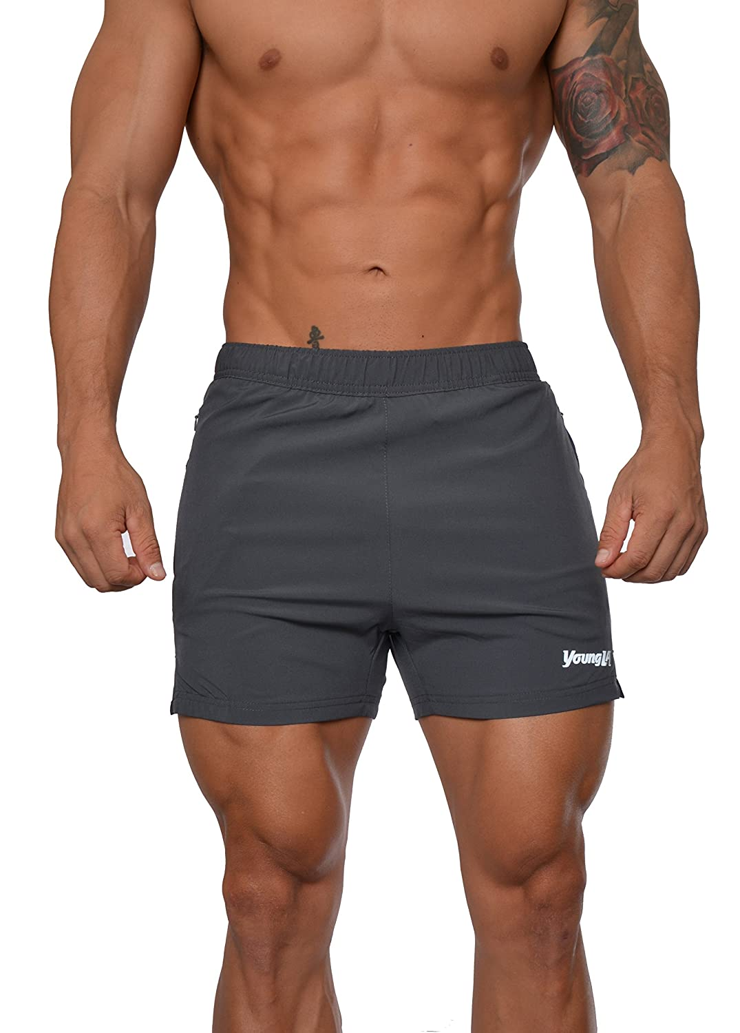 961e8659d6 The shorts dry very quick as they are made with a high quality moisture  wicking material. 2 Front pockets to store your essentials or to put your  hands to ...