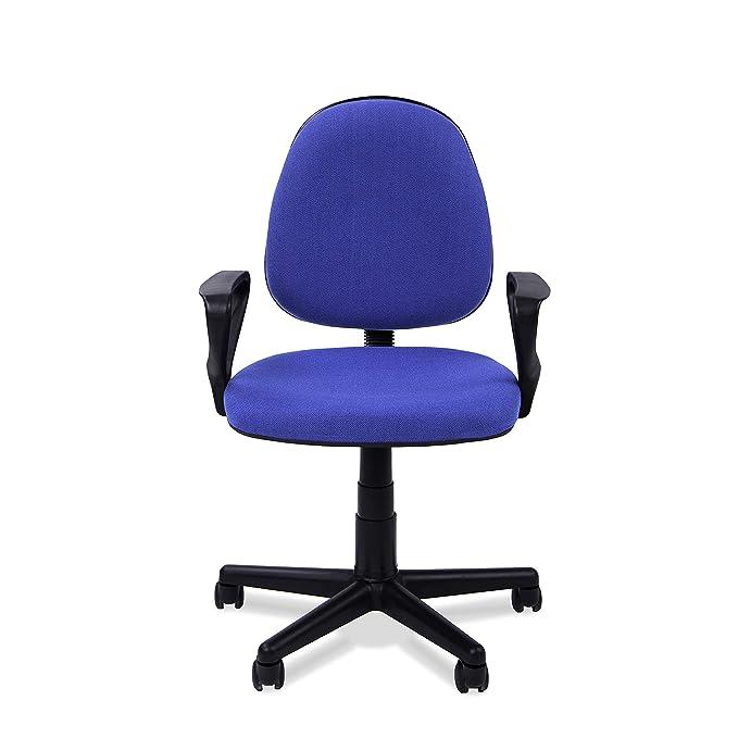 Adec - Danfer, Silla de escritorio, silla de oficina, silla de despacho, acabado en color Azul, medidas: 54 x 79 - 91 cm: Amazon.es: Juguetes y juegos