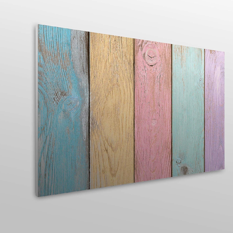 dekorativ vertikale Bretter Holztextur PVC Verschiedene Gr/ö/ßen MEGADECOR Kopfteil f/ür Bett
