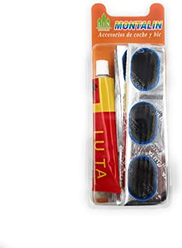 MONTALIN 48 x Parches Kit para Reparacion de Pinchazos Rueda ...