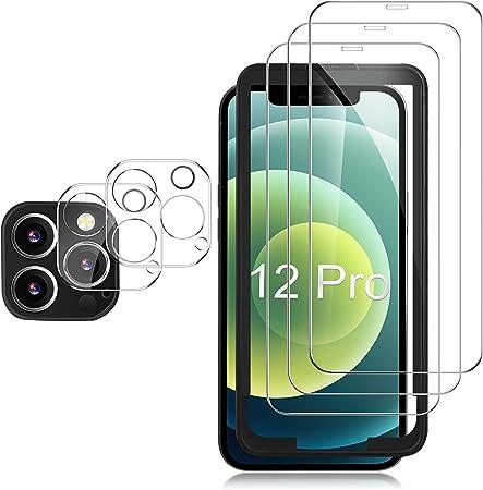 Gesma Schutzfolie Kompatibel Mit Iphone 12 Pro 3 Stück Elektronik