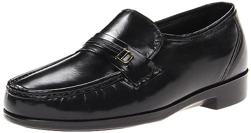 Bostonian - Mocasines para Hombre Negro Black Leather: Amazon.es: Zapatos y complementos