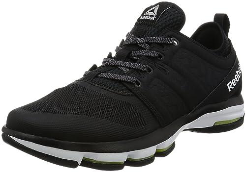 51dcbda28d5 Reebok Men s Cloudride DMX Black and White Nordic Walking Shoes -6 UK India  (