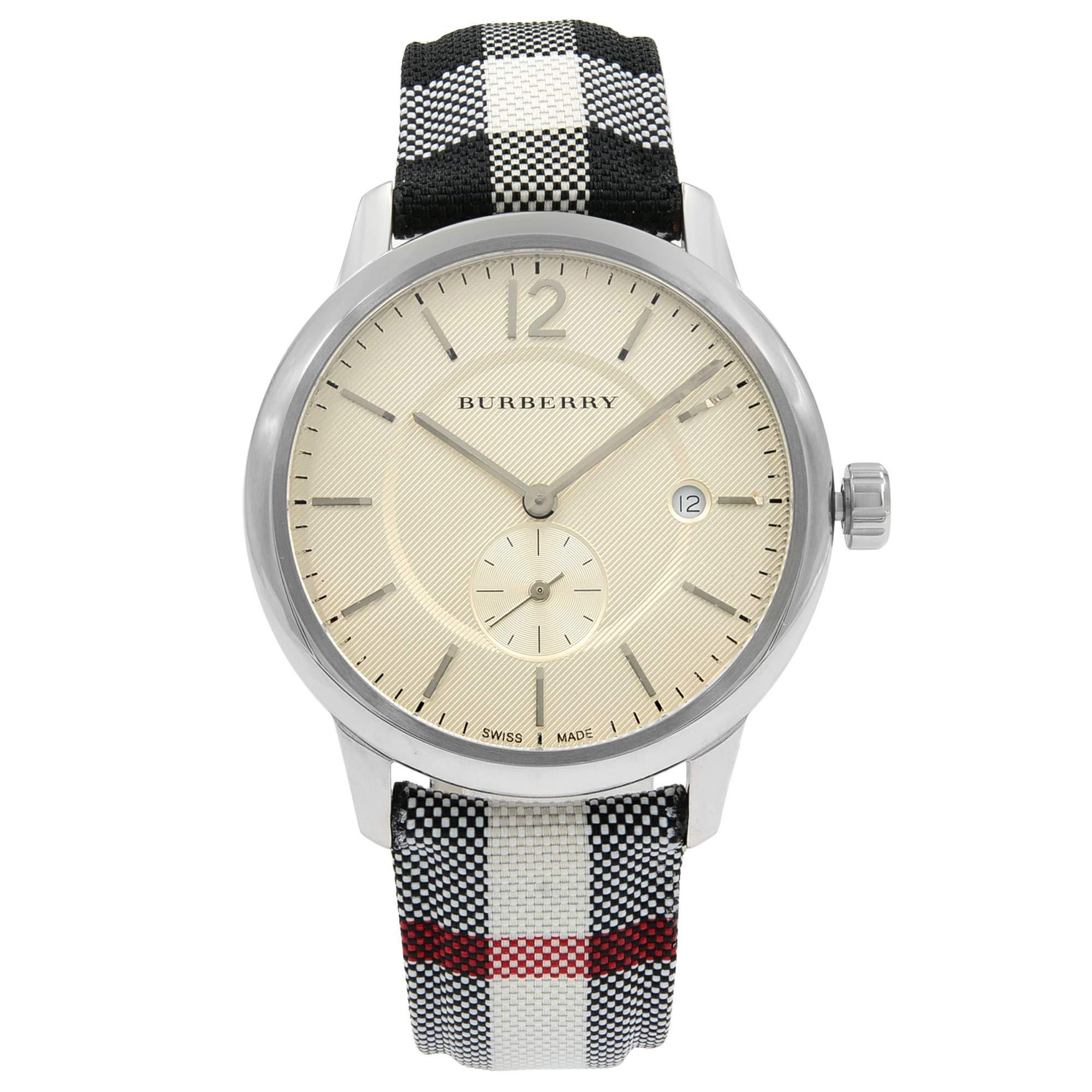 Burberry The Classic Round Quartz Male Watch BU10002 (Certified Pre-Owned)