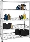 AmazonBasics Heavy Duty Storage Shelving Double